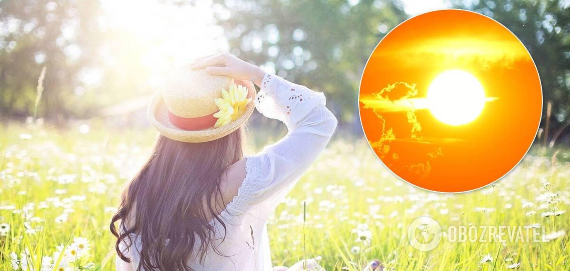 Синоптики спрогнозували спекотні вихідні в Україні: розжарить до +35