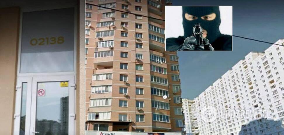 ворруженное нападение Киев
