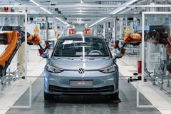 В Украине наладят производство электромобилей Volkswagen — депутат Рады