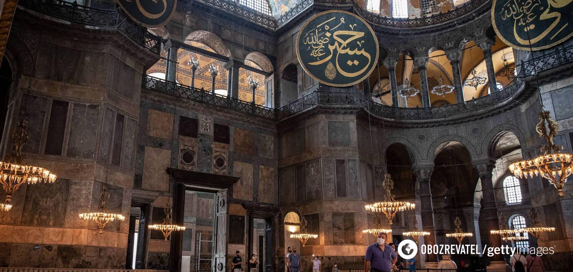 Туреччина позбавила собор статусу музею