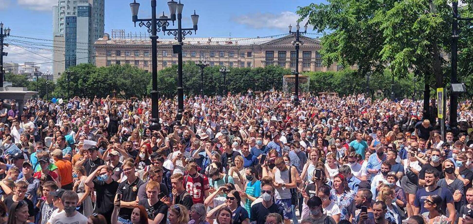 Протесты в Хабаровске: люди устали, что их держат за дураков