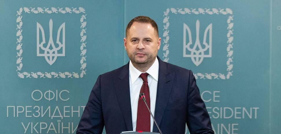 Єрмак заявив, що Захід не зніматиме санкції з РФ