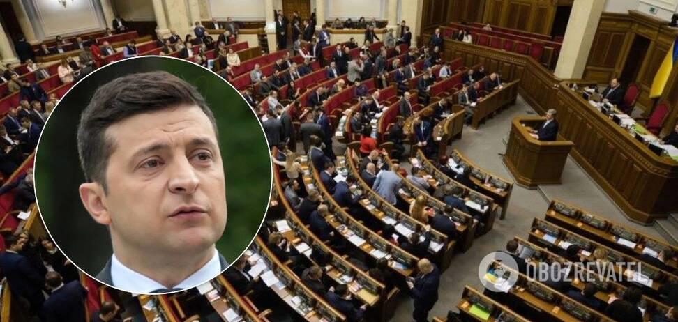 Зеленський попросив Раду скасувати обмеження щодо зарплат чиновників