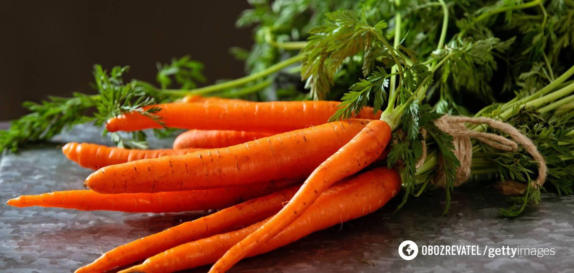 Морковь помогает предотвратить изжогу и образование язв