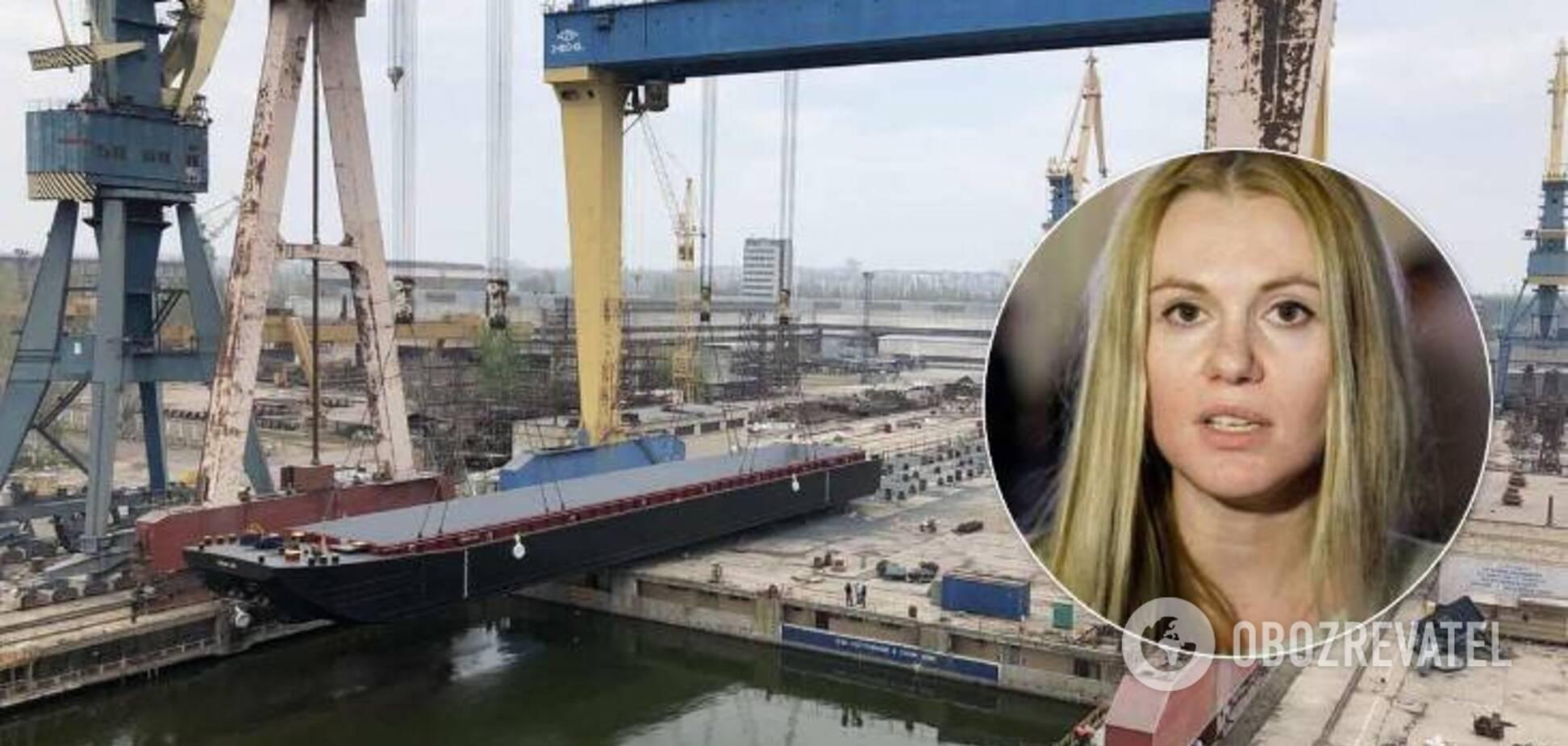 """Скороход утверждает, что не связана с рейдерской атакой на завод """"Океан"""""""