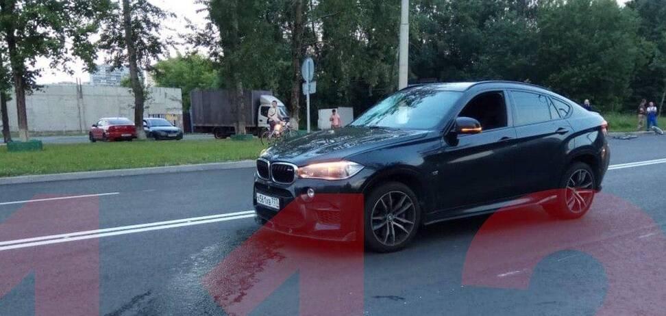 В России сын экс-министра насмерть сбил человека (фото: Telegram 112)