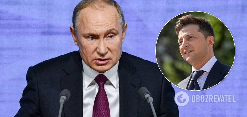 Что коробит Владимира Путина в высказываниях Владимира Зеленского