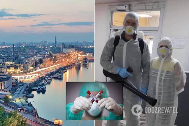 В Киеве вспышка COVID-19 зафиксирована в университетском общежитии
