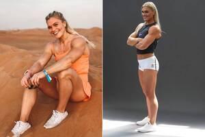 Знаменитая фитнес-спортсменка полностью разделась для ESPN