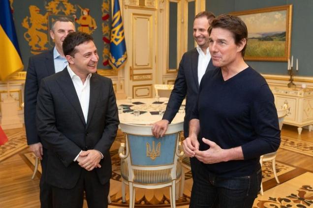 Фильм с Томом Крузом передумали снимать в Украине