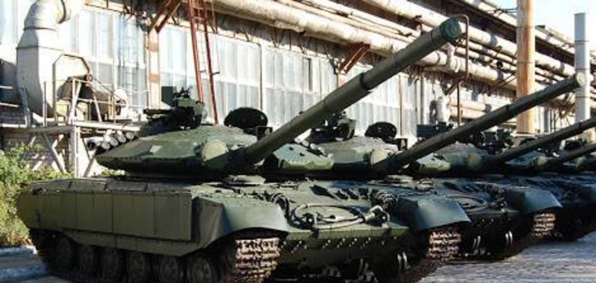 На Донбассе заметили скопление российских танков