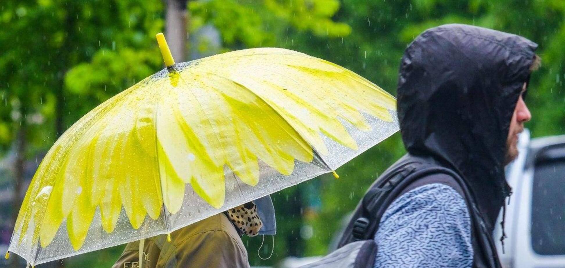 На Левобережье Украины ожидаются дожди