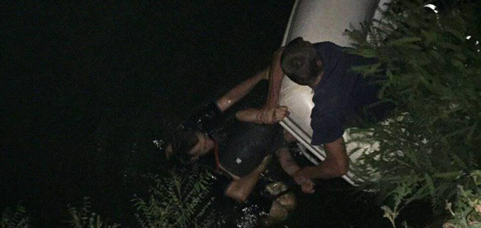 В Днепре спасли тонущего мужчину. Фото
