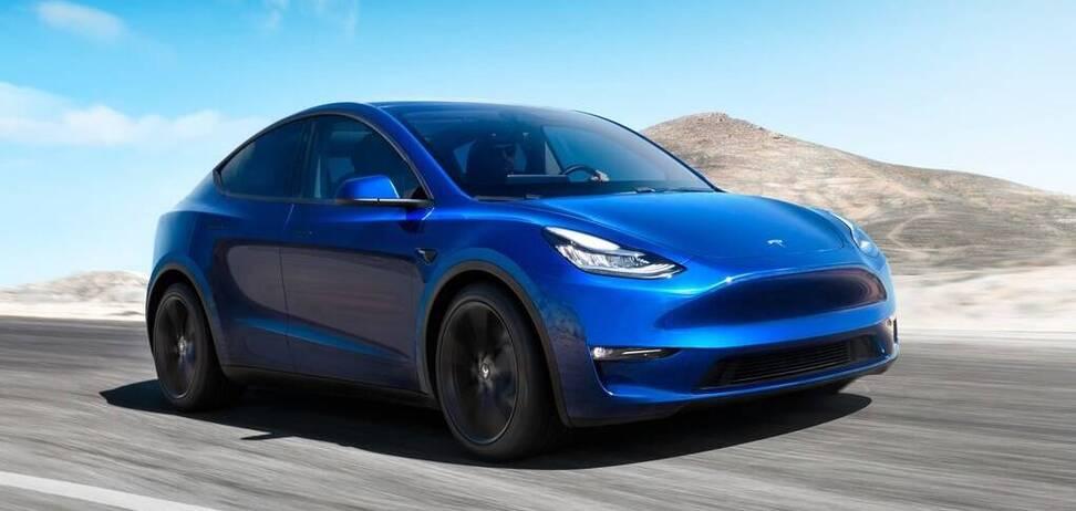 Кроссовер Tesla Model Y подешевел на несколько тысяч. Фото: Tesla