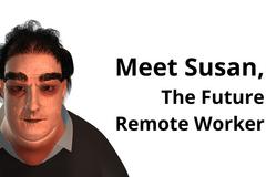 Сюзанна – модель середньостатистичного співробітника на віддаленій роботі через 25 років