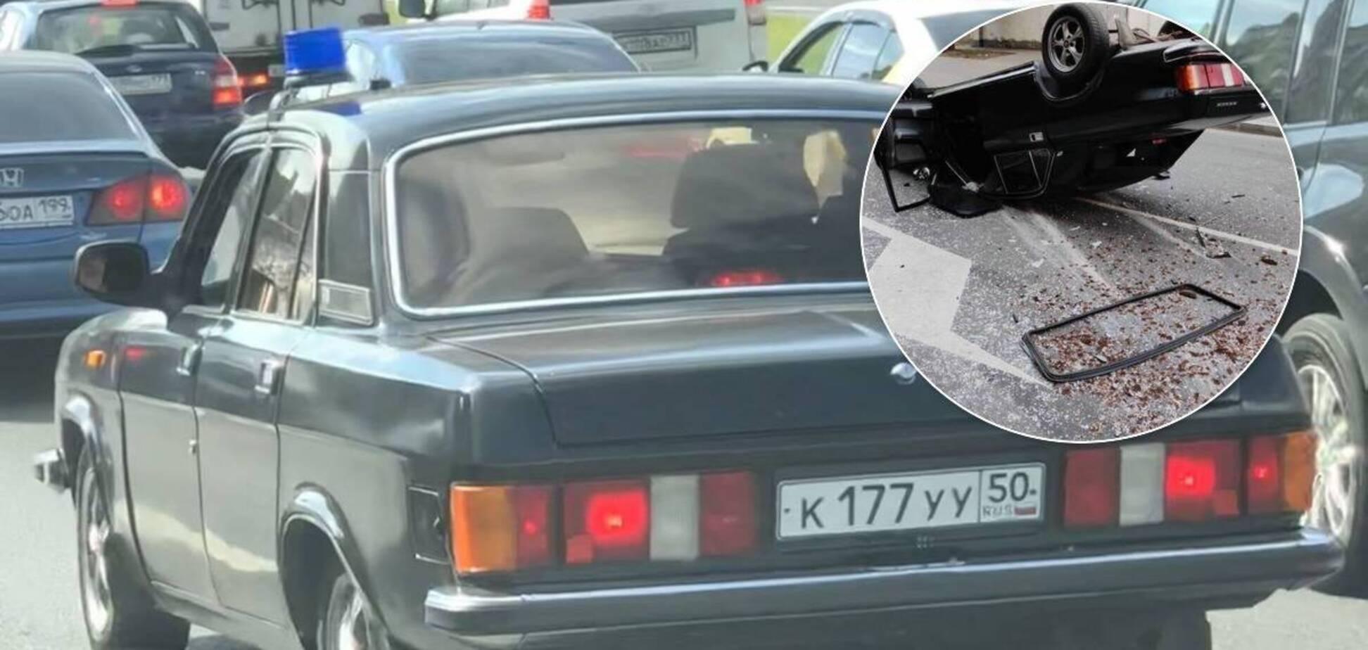 П'яні школярки вкрали авто і розбили кілька машин. Фото: drom.ru