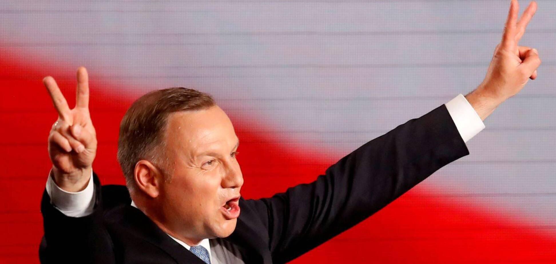 Анджей Дуда випередив Рафала Тшасковського трохи більш ніж на 2 відсотки. Джерело: Reuters
