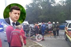 Зеленский отреагировал на ДТП в Киеве, в котором погибла семья