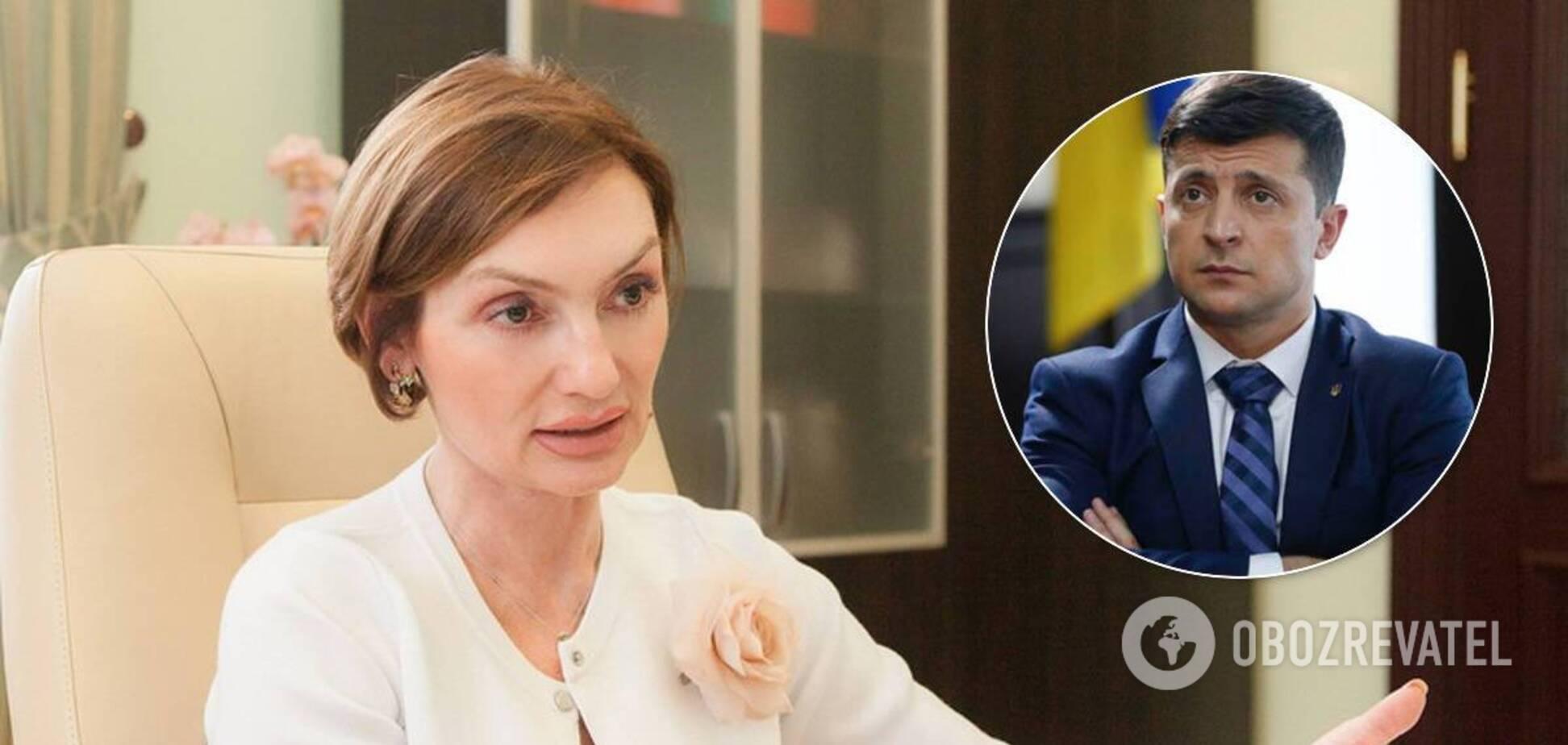 Рожкова сообщила о встрече с Зеленским после отставки Смолия