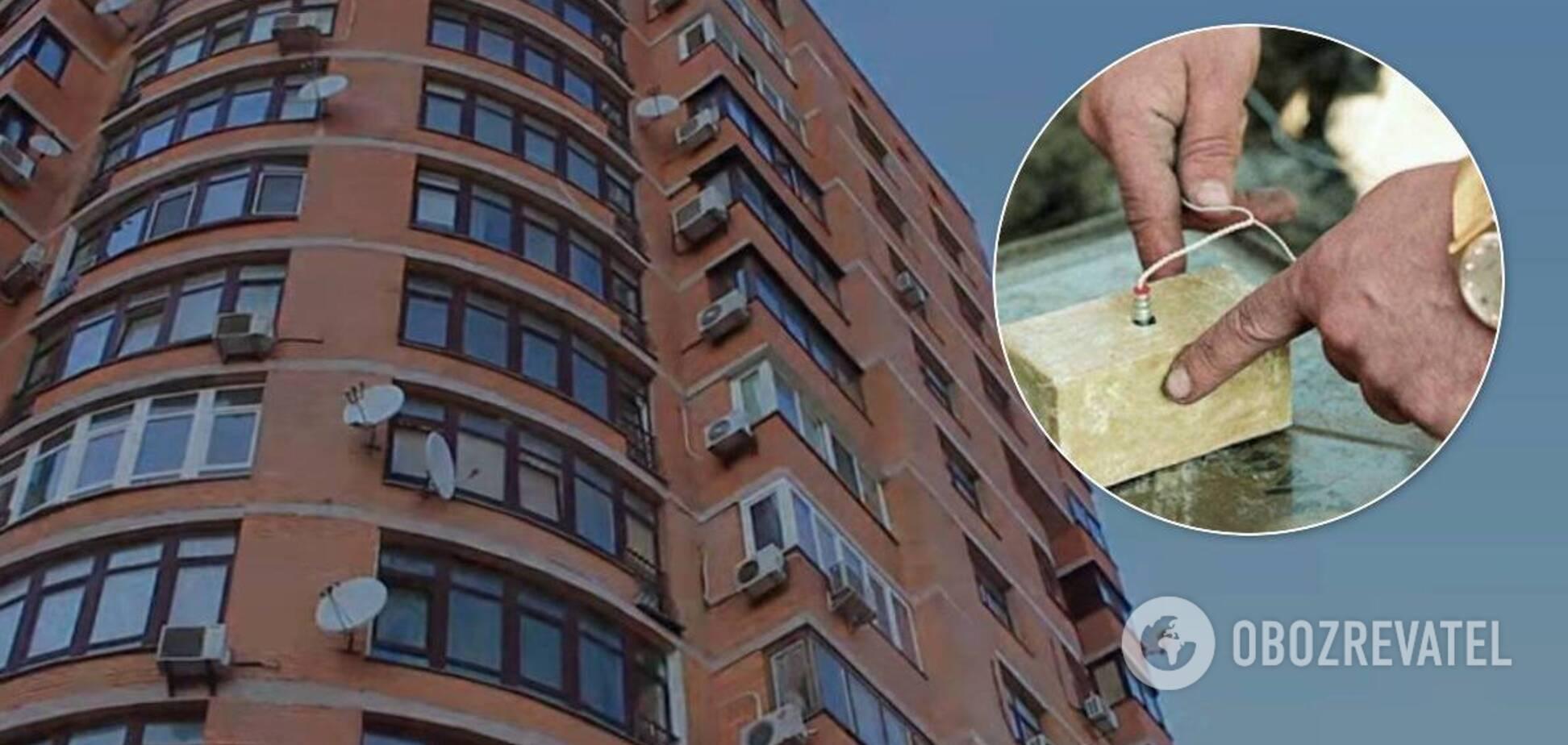У багатоповерхівці Києва виявили вибухівку з детонаторами. Деталі події