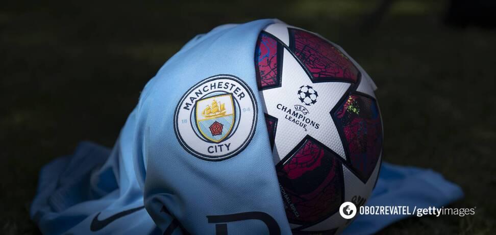 'Манчестер Сити' в Лиге чемпионов