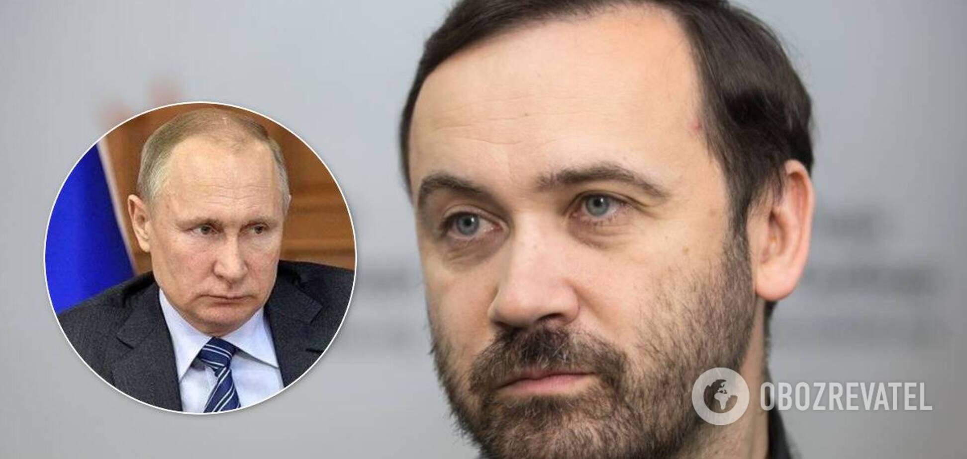 Ілля Пономарьов вважає, що Путін буде при владі до смерті