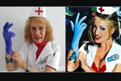 Пожилые люди повторили популярные обложки музыкальных альбомов