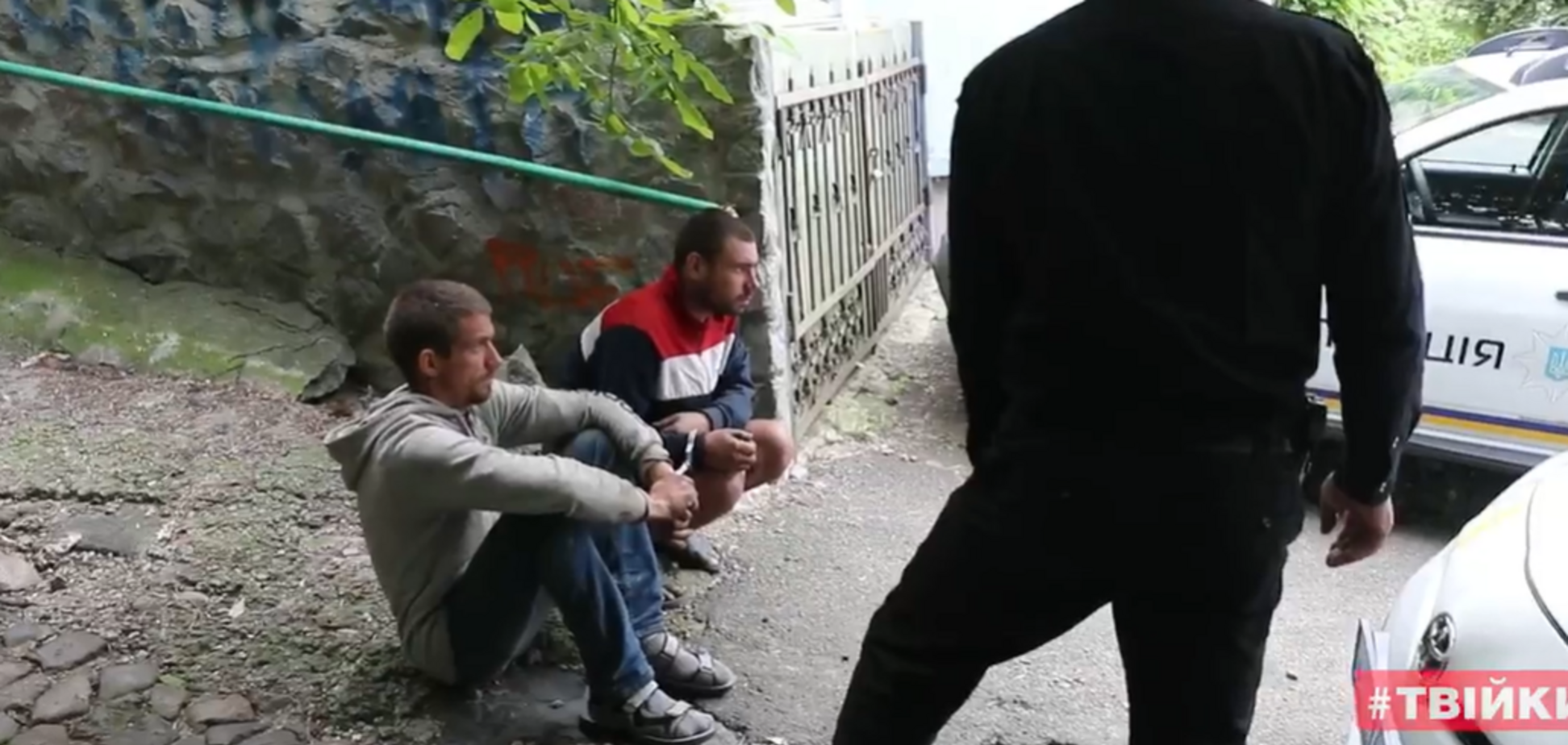 У Києві спіймали вандалів, які пошкодили Замок Річарда