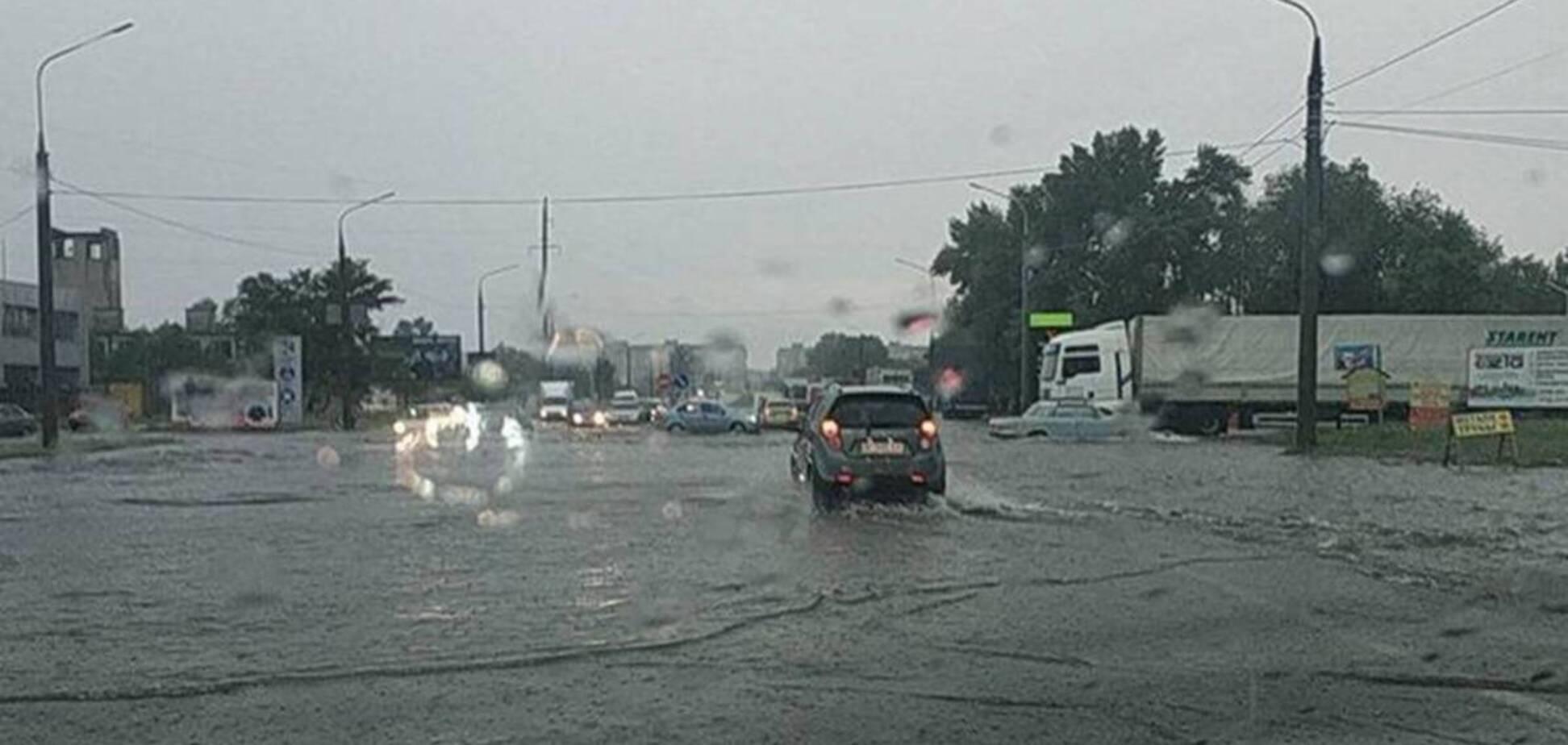 Злива затопила Запоріжжя та Харків