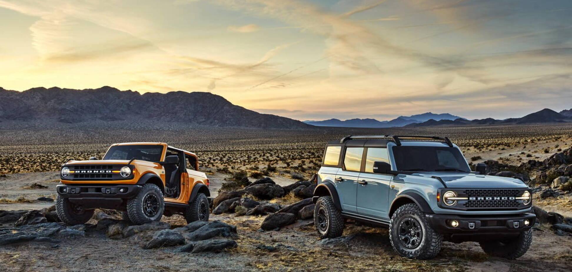 Bronco повертається: Ford презентував новий позашляховик