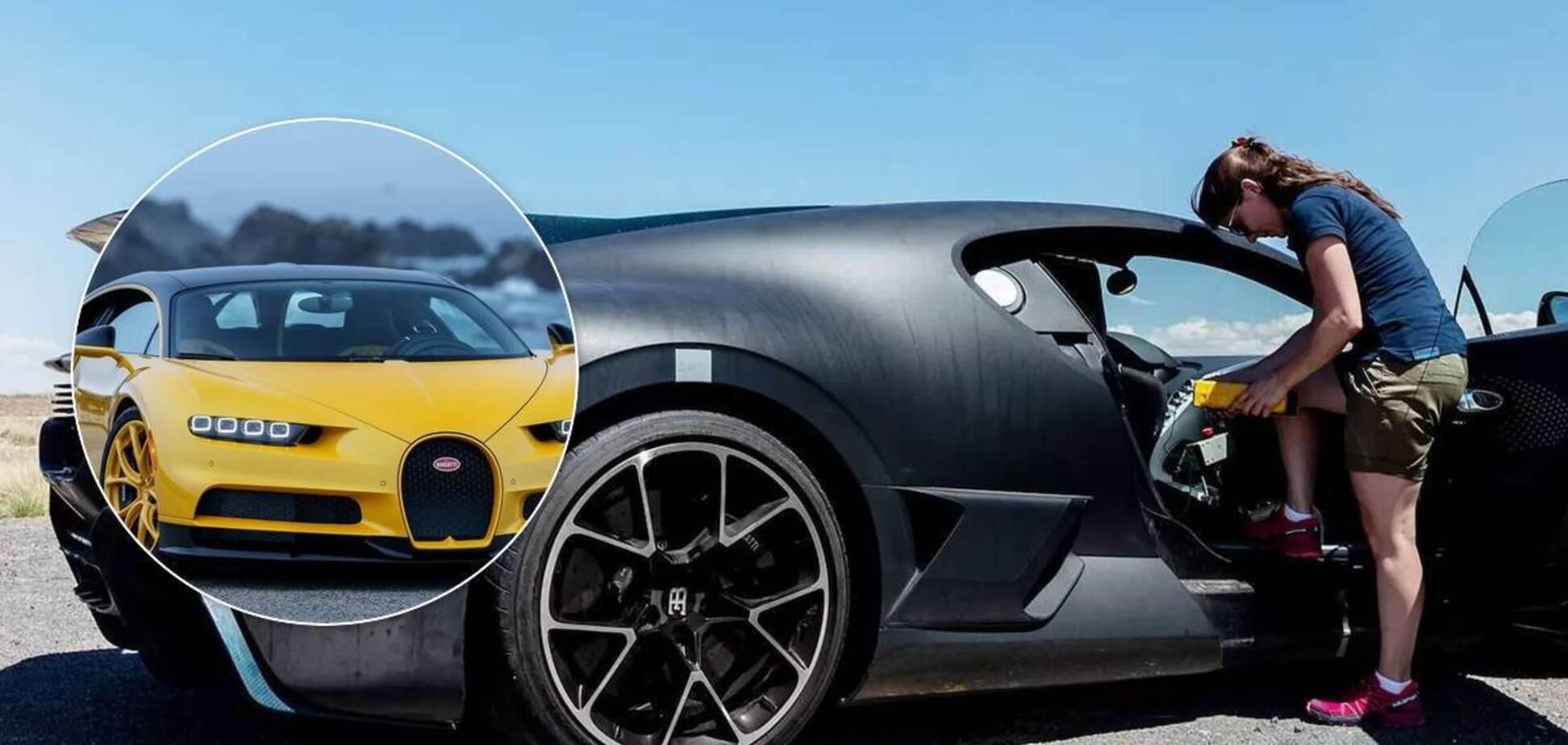 Гіперкар Bugatti Chiron отримав дуже потужний кондиціонер. Фото: Bugatti