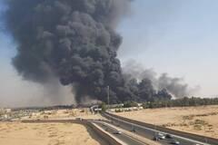 Пожар в Египте