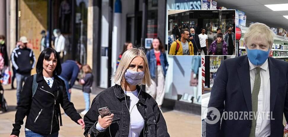 В Великобритании усилят штраф за неношение маски
