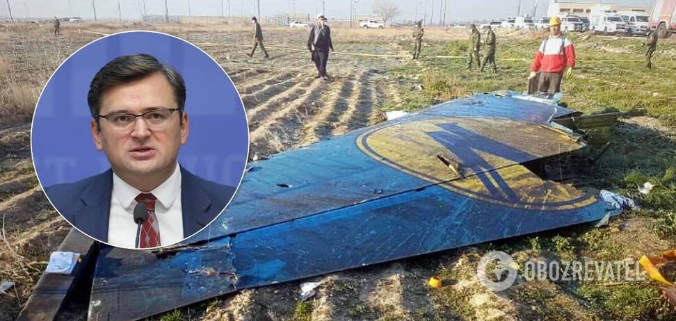 Кулеба рассказал новые данные о катастрофе самолета МАУ в Иране