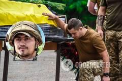 Украина прощается с погибшим на Донбассе Героем Матвеевым: фото и видео
