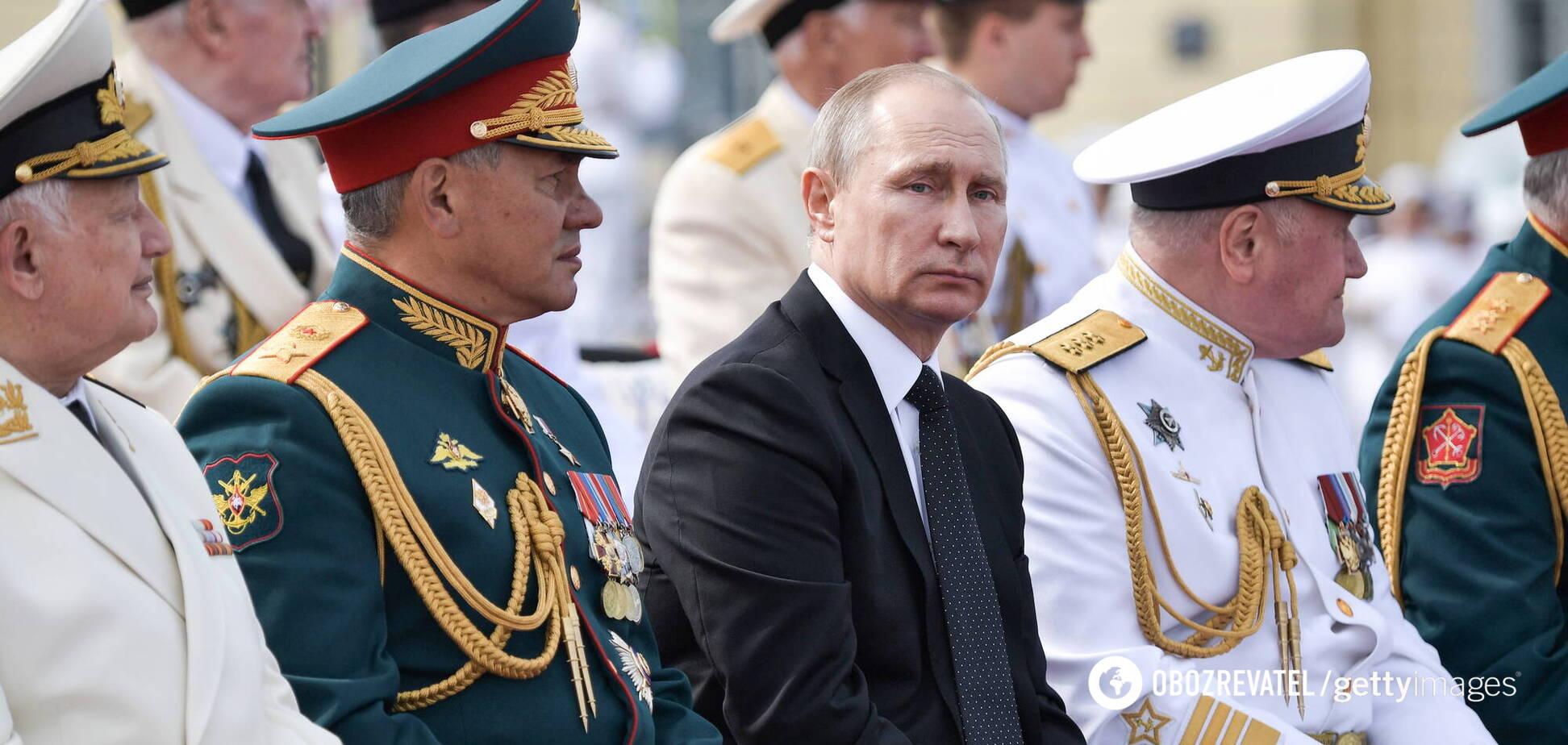 Путін не здатний на лобову атаку на Україну, – офіцер ВМС США
