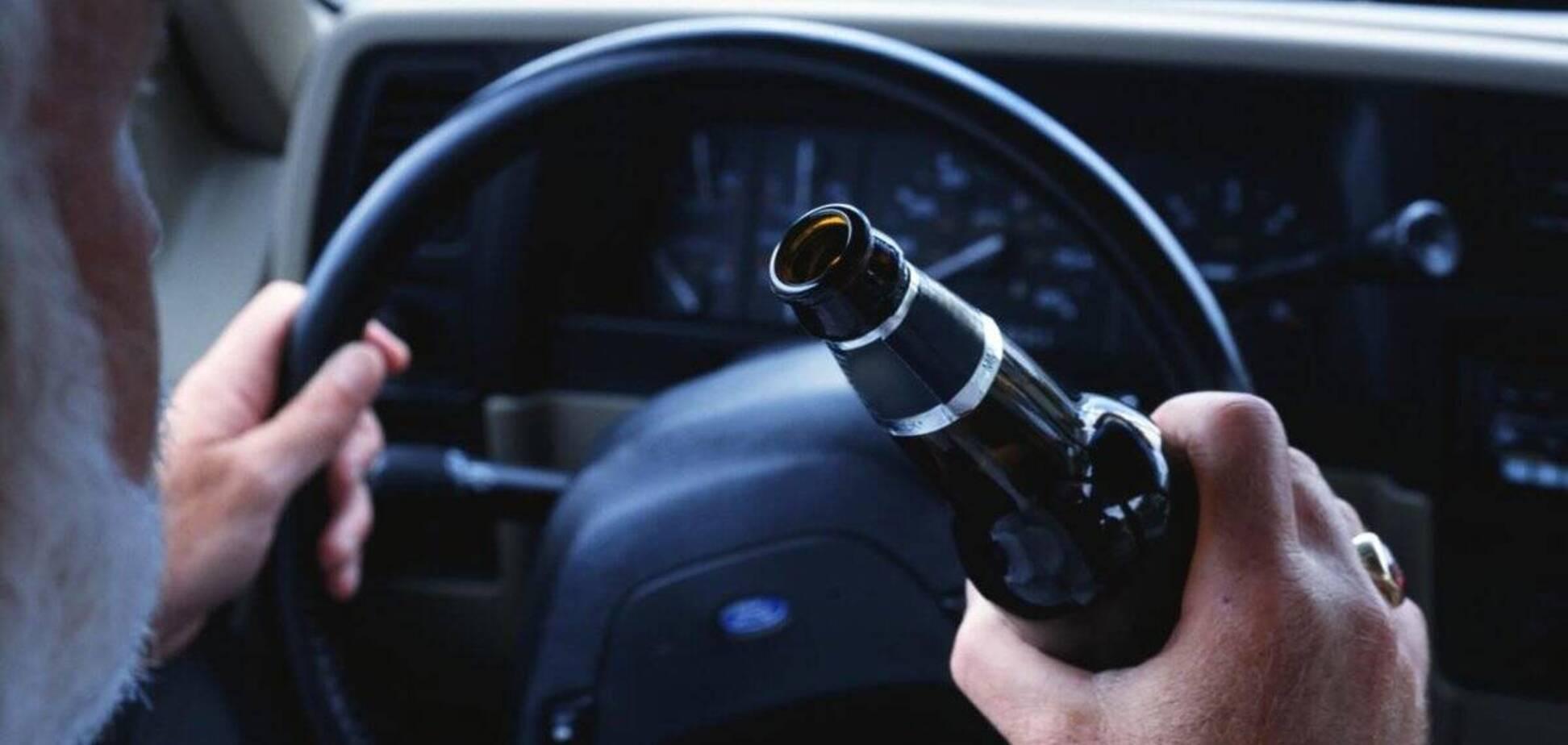 В Украине не наказывают тысячи пьяных водителей