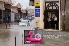 Потоп в Харькове после ливня