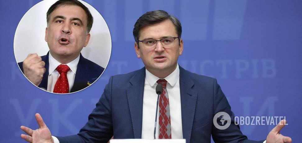 Михеил Саакашвили и Дмитрий Кулеба