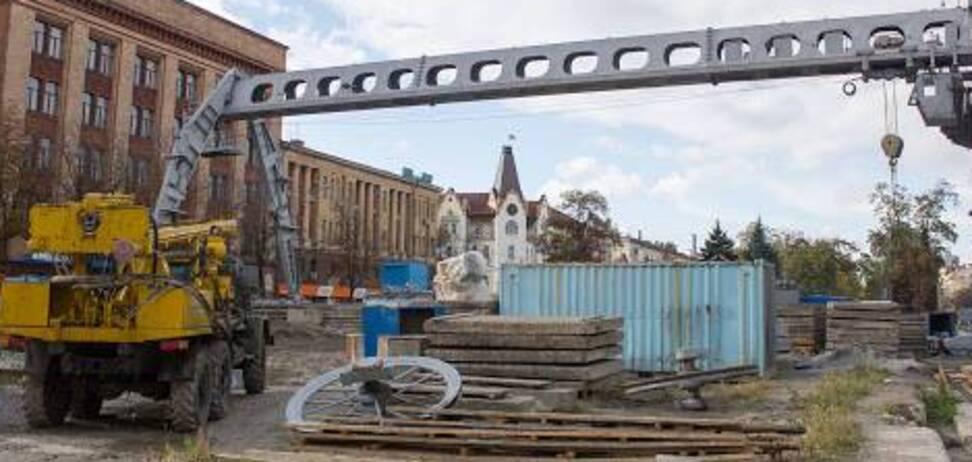 Чиновники в Днепре саботируют работы по строительству метро (фото: блог Артема Костюка)