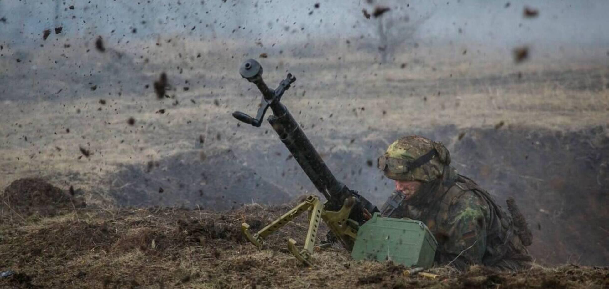 В результате ракетного обстрела на Донбассе ранения получили семь бойцов ВСУ