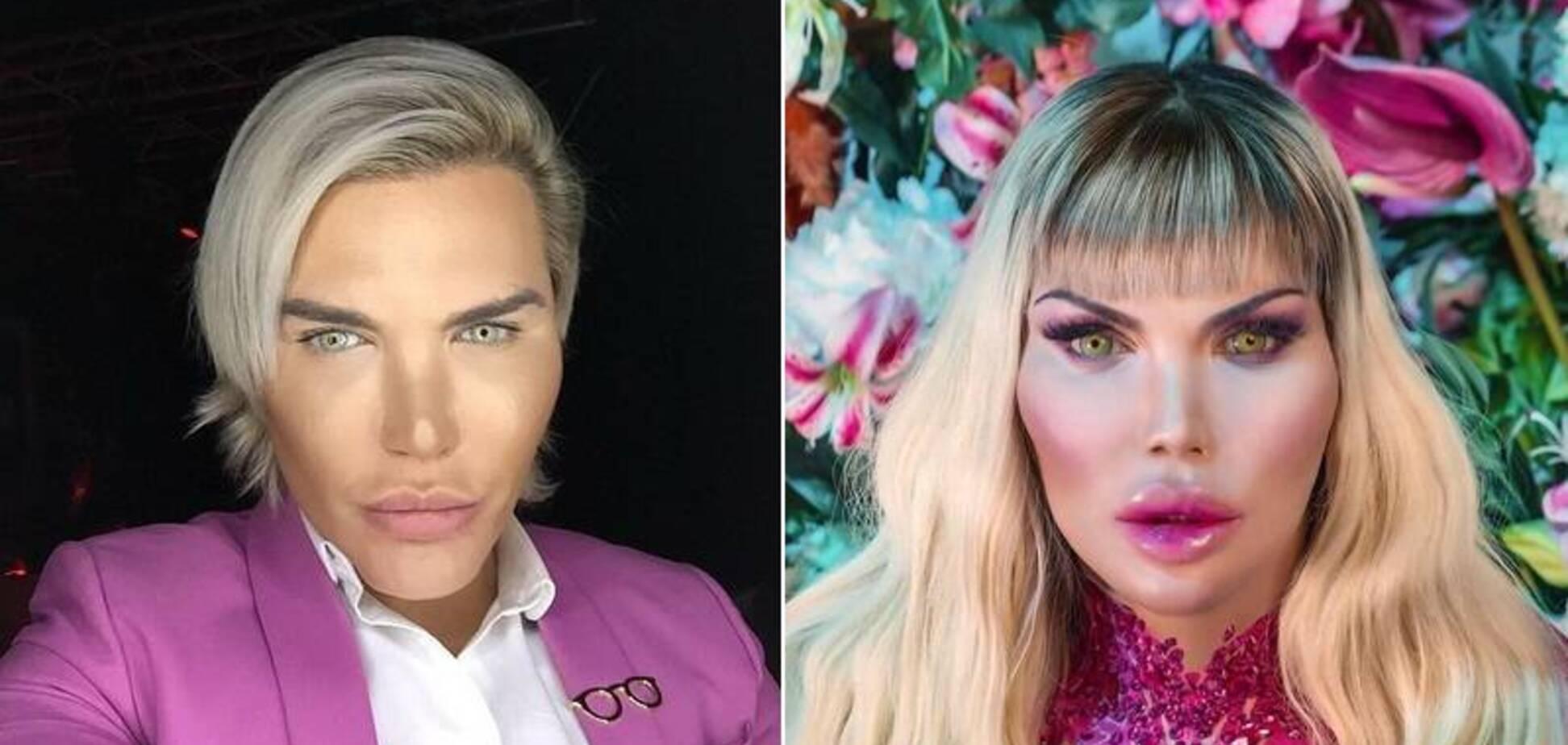 'Живой Кен' Родриго Алвес превратился в Барби и решил стать мамой