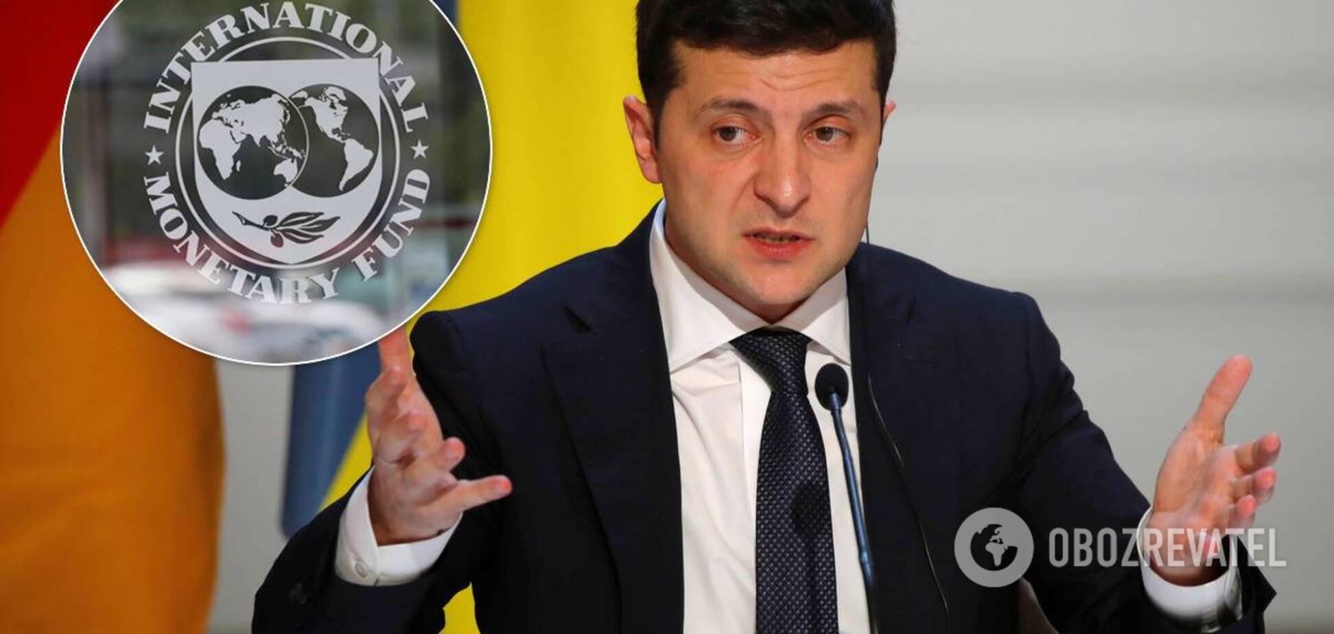 Зеленский пообещал МВФ независимого главу НБУ