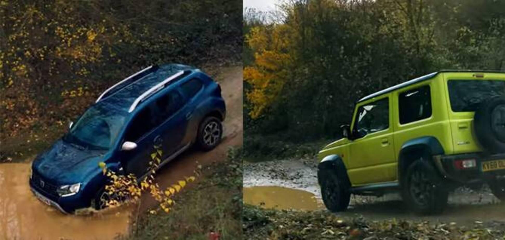 Що швидше на бездоріжжі: Renault Duster проти Suzuki Jimny