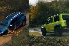 Что быстрее на бездорожье: Renault Duster против Suzuki Jimny