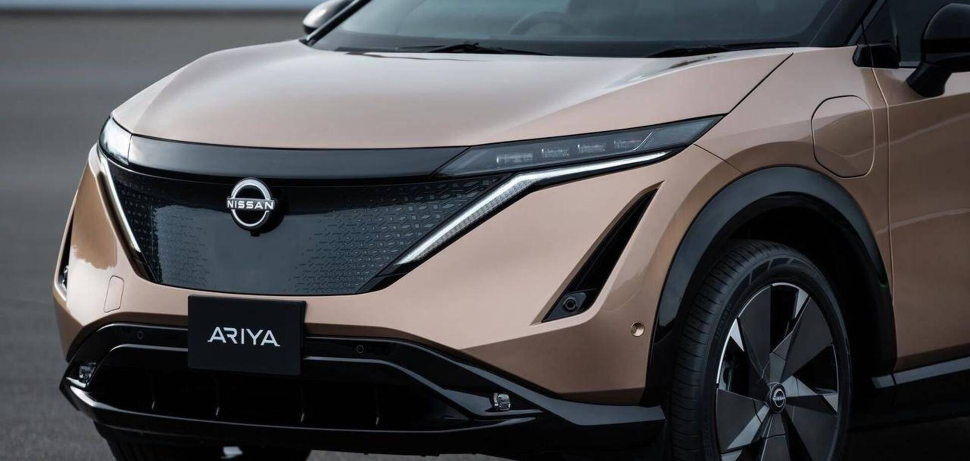 Электромобиль Nissan Ariya полностью рассекречен. Фото: Nissan