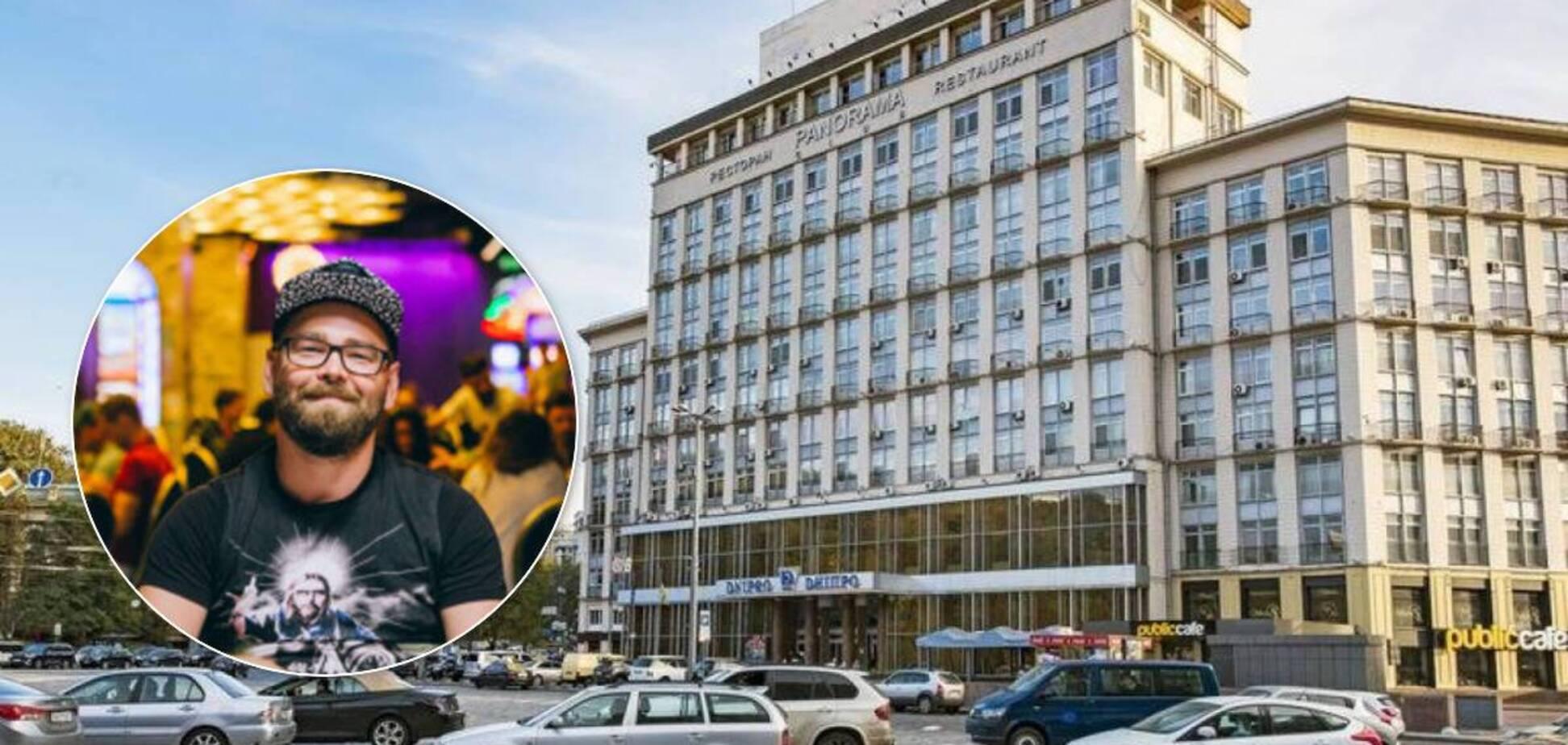 Компанію, яка купила готель 'Дніпро', заснував гравець у покер, – ЗМІ