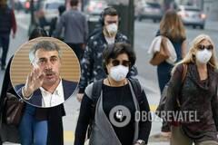 Комаровський розкритикував носіння масок в Україні