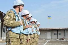 Президент Зеленский поздравил украинских миротворцев с профессиональным праздником