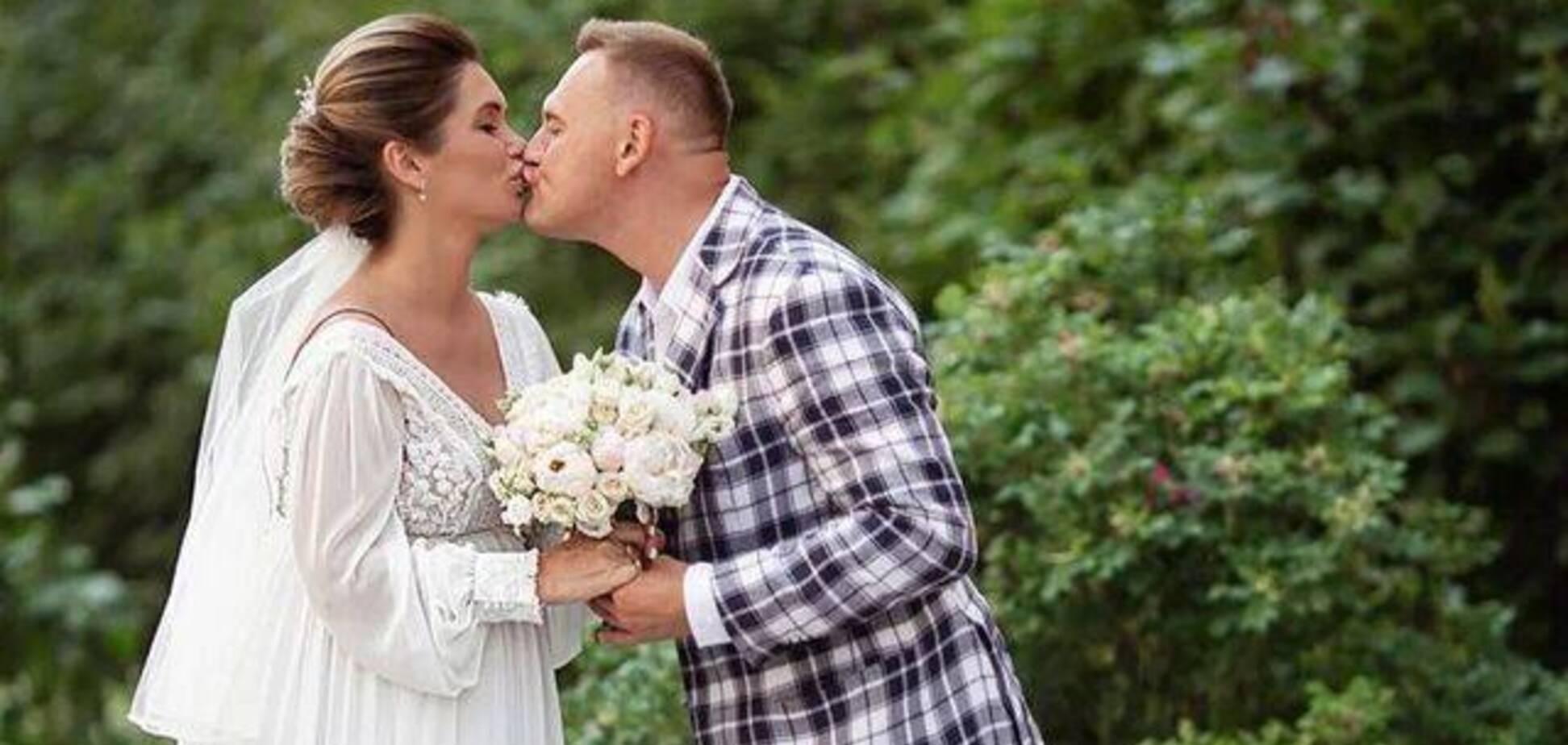 43-летняя звезда 'Дом-2' Меньщиков тайно женился: первые фото со свадьбы
